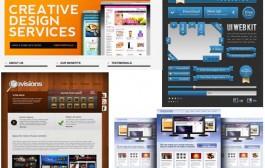 مجموعه دهم گرافیک های قالب سایت