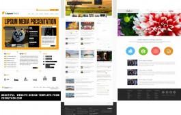 مجموعه دوم گرافیک های قالب سایت