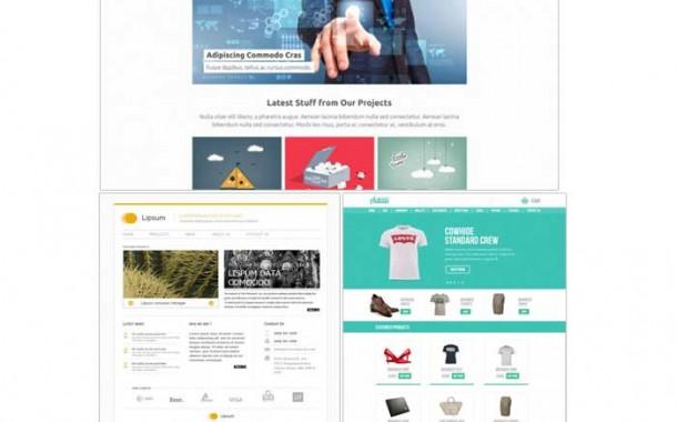 مجموعه سوم گرافیک های قالب سایت