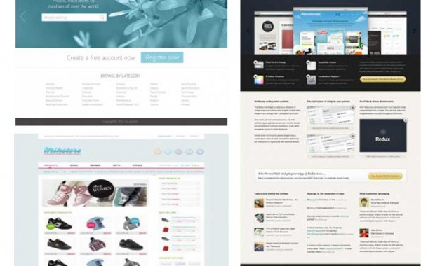 مجموعه پنجم گرافیک های قالب سایت