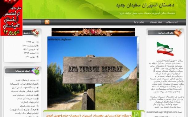 دهستان اسپیران سفیدان جدید