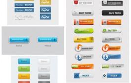 مجموعه اول گرافیک های buttons