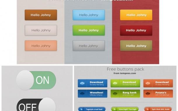 مجموعه چهارم گرافیک های buttons
