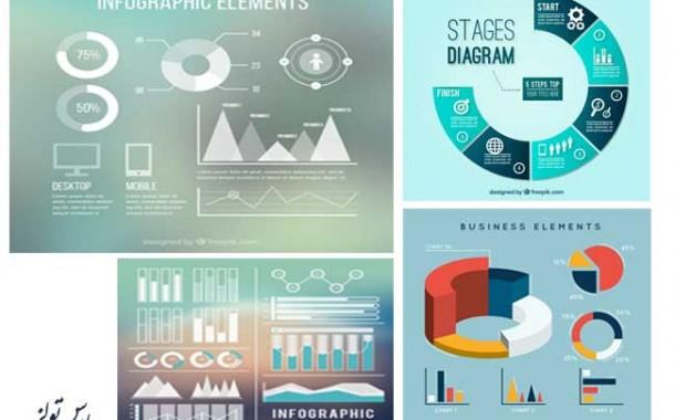 مجموعه پنجم گرافیک های نموداری
