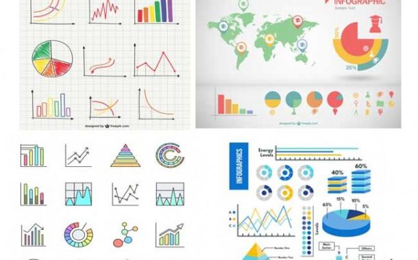 مجموعه ششم گرافیک های نموداری
