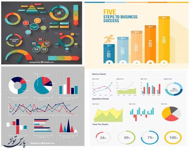 مجموعه هشتم گرافیک های نموداری