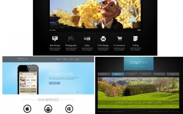 مجموعه ششم گرافیک های قالب سایت