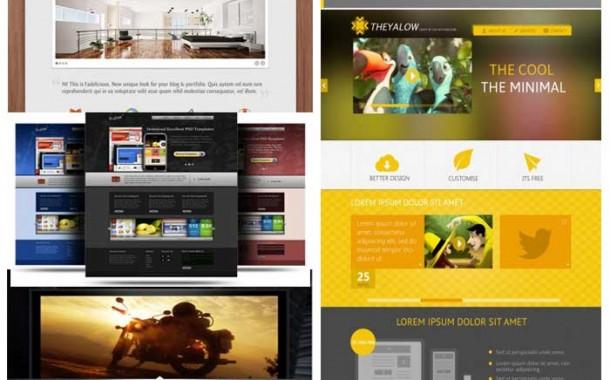 مجموعه هفتم گرافیک های قالب سایت