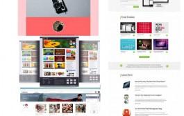 مجموعه نهم گرافیک های قالب سایت